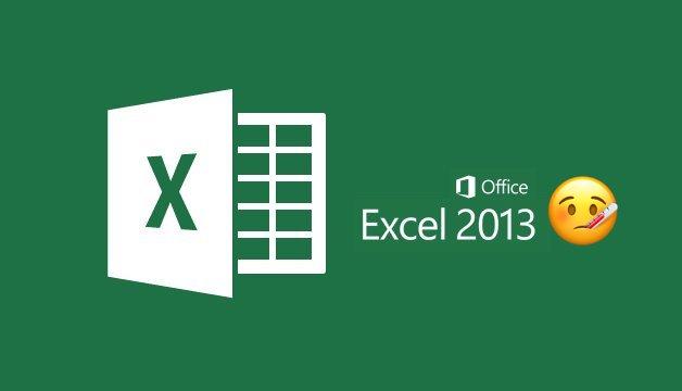 Excel 2013 with sick emoji